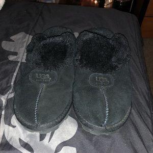 Ugg Black Coquette Slipper